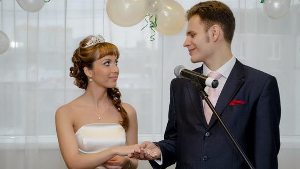 Венчание Сергея и Анны в екатеринбургской церкви