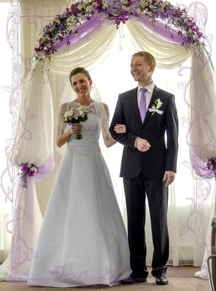 Венчание Саши и Иры - одноклассники стали супругами
