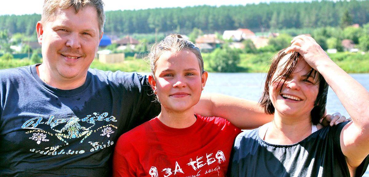 В Екатеринбурге состоялось крещение еще одного подростка